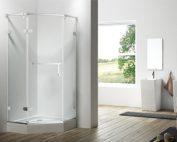 剖析淋浴房高度怎么设置?框架怎么固定?