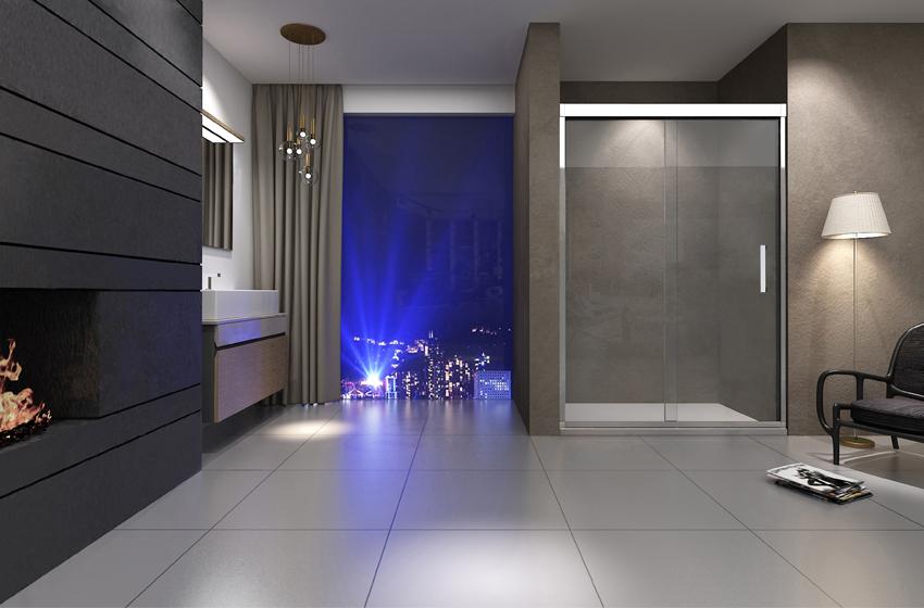 淋浴房底座该如何选择,石基or底盆?