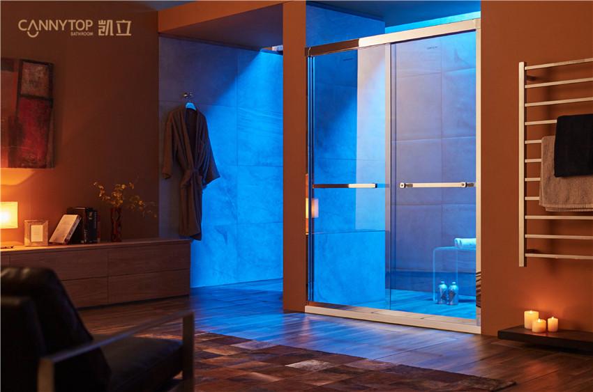 清洁淋浴房铝材一定要用中性清洁液