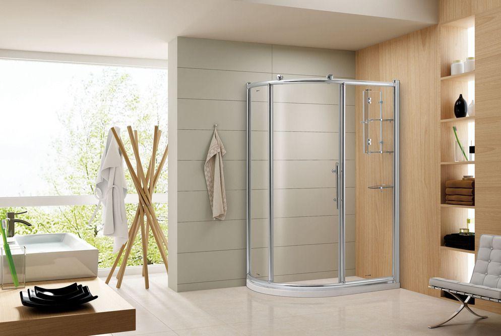 什么形状的淋浴房适合什么户型的卫生间?