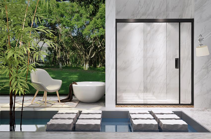 淋浴房最大的误区之一:别以为玻璃越厚越好