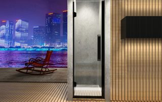 为什么淋浴房非用钢化玻璃不可?