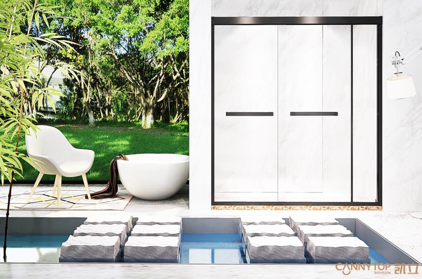不同类型的不锈钢淋浴房该怎么选购?