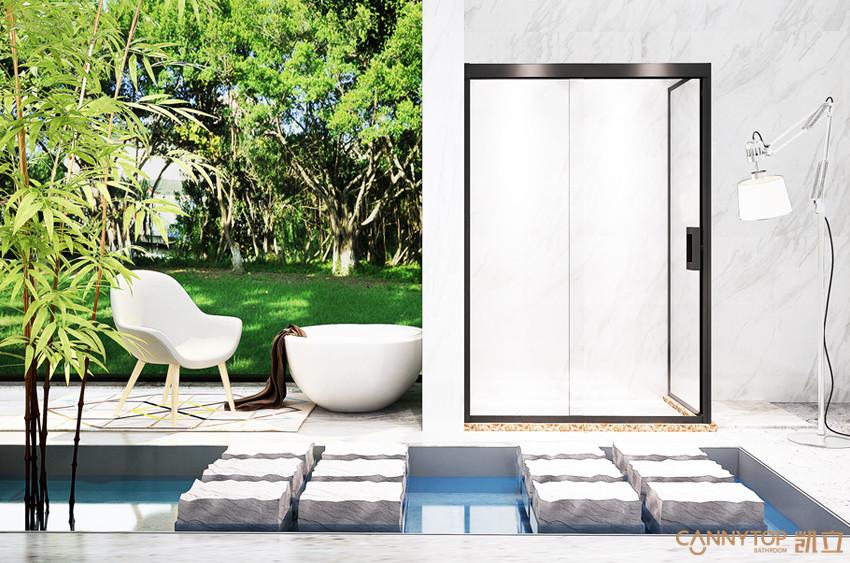 一款不锈钢淋浴房,带来惬意的沐浴体验