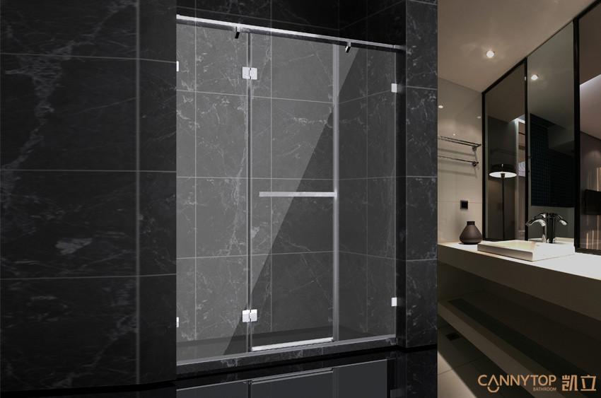 淋浴房尺寸应结合卫生间格局来考虑