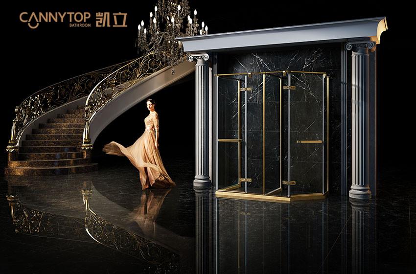与淋浴房来场浪漫的邂逅,为家添温馨