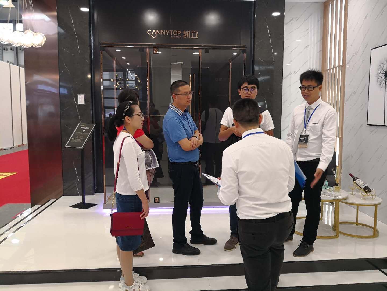 2018上海国际厨卫展圆满落幕 回顾凯立淋浴房精彩瞬间