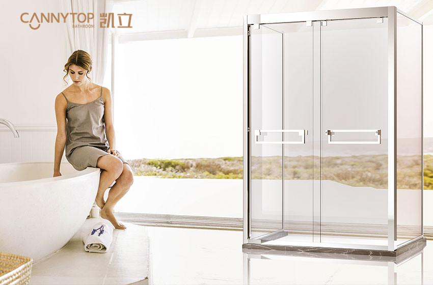 选好淋浴房玻璃,安全很重要