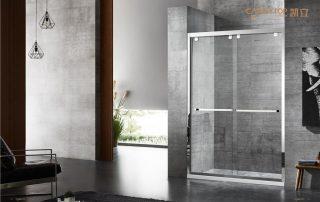 辨别平开门淋浴房好与否的标准,你买对了吗?