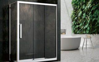 极简风装修的卫浴间适合安装怎样的淋浴房?