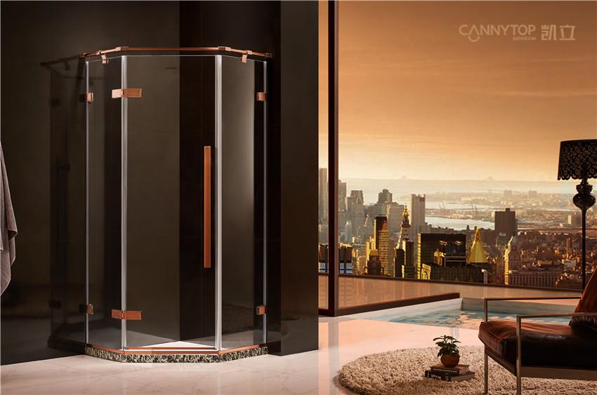 现实中普通淋浴房尺寸多大最为合适?