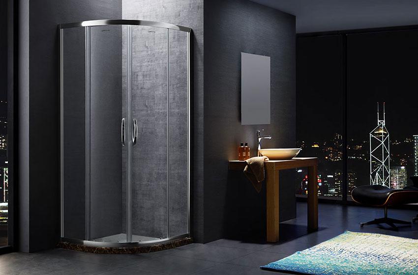 现代淋浴房细节很重要 便捷实用更受青睐