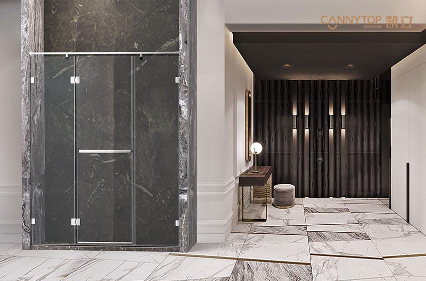一眼看清推开门淋浴房的质量,从这5大细节入手