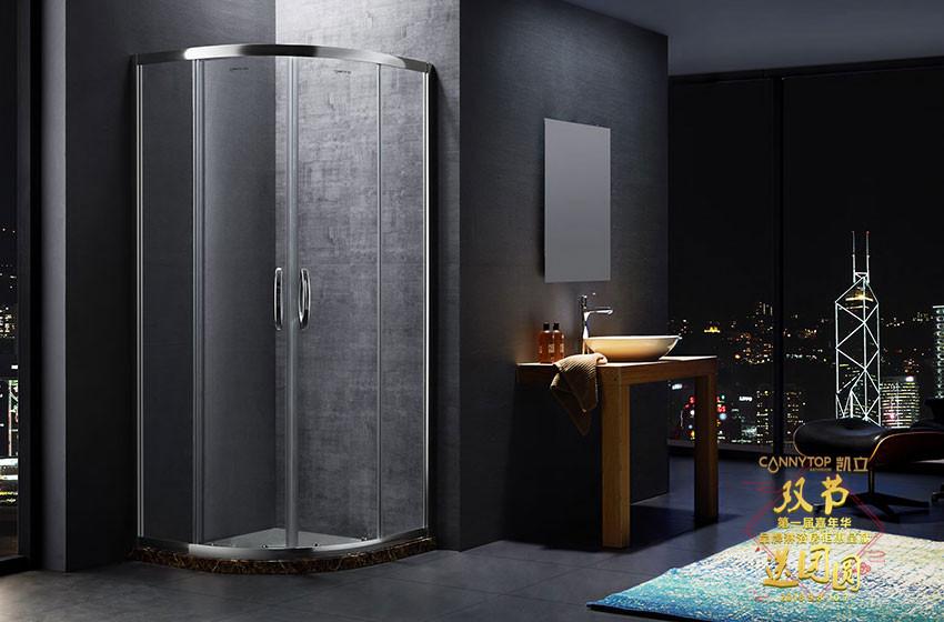 卫浴间的直角淋浴房需要铺地砖吗?