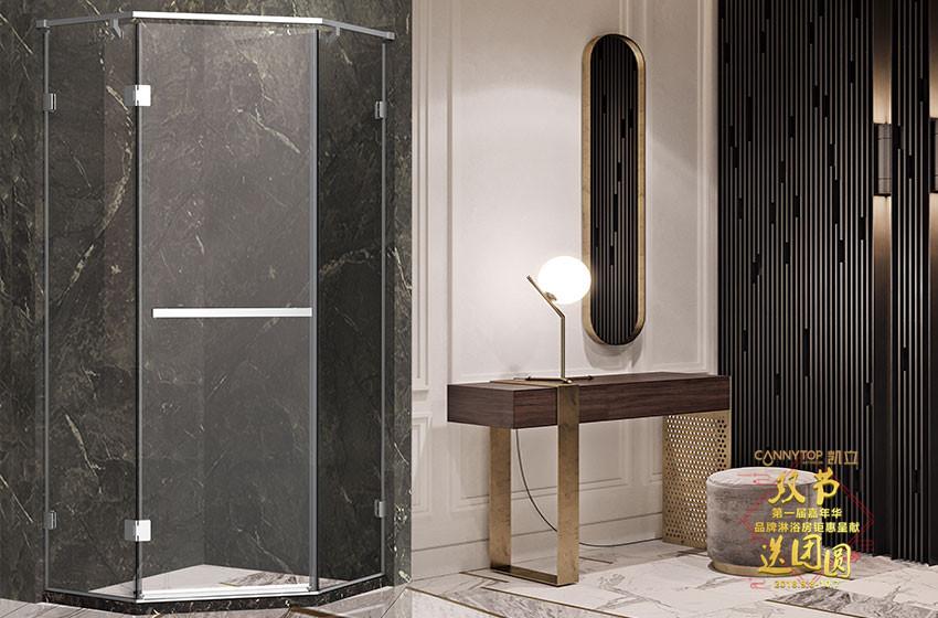 透明淋浴房铝合金框架如何保养能延长使用寿命?