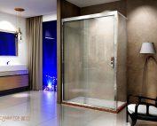 开放式与封闭式的淋浴房,你会选哪个?