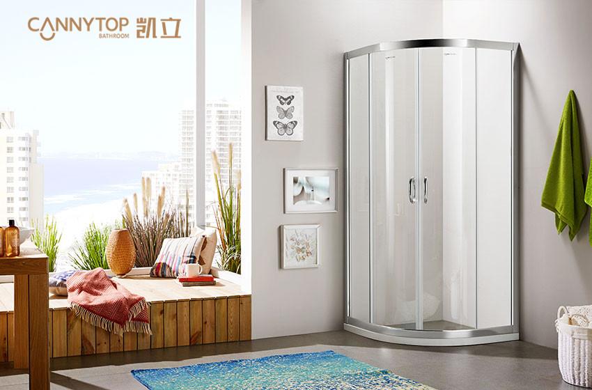 浴帘、淋浴房、隔断间,你的卫生间该选哪一个?